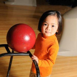 Rampe pour bowling enfant