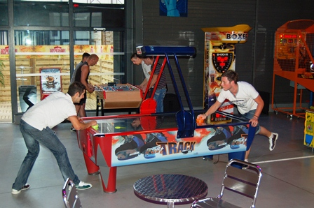 Palet jeux arcades cityfun