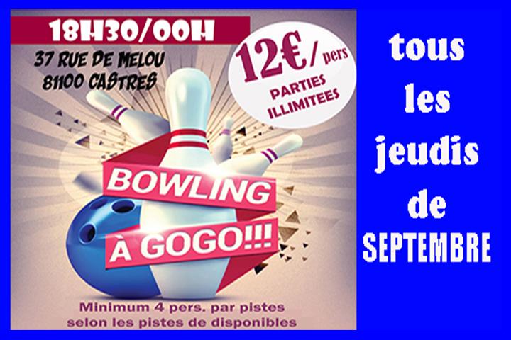 bowling castres